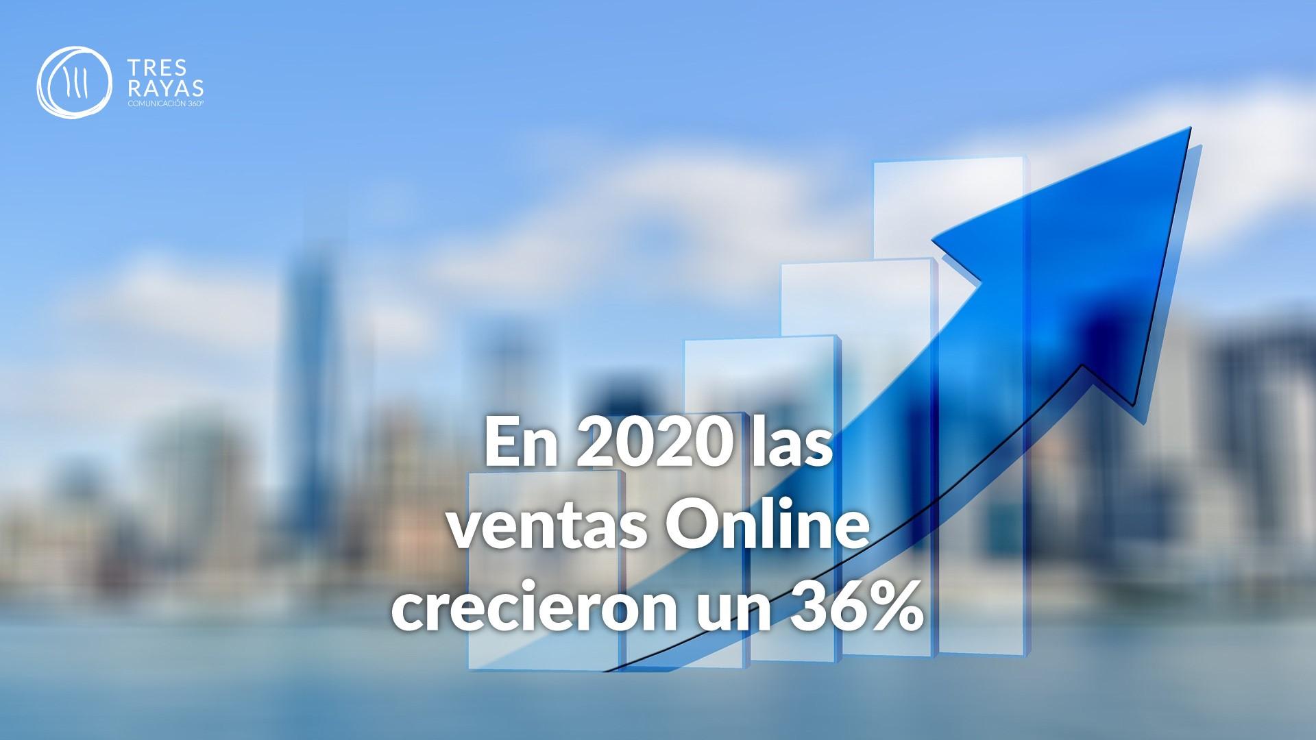 AUMENTO DE LAS VENTAS ONLINE EN 2020